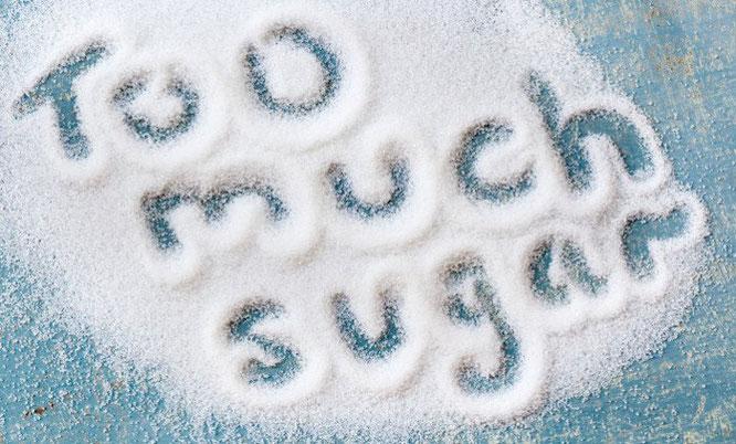 Zuckerlastige Ernährung
