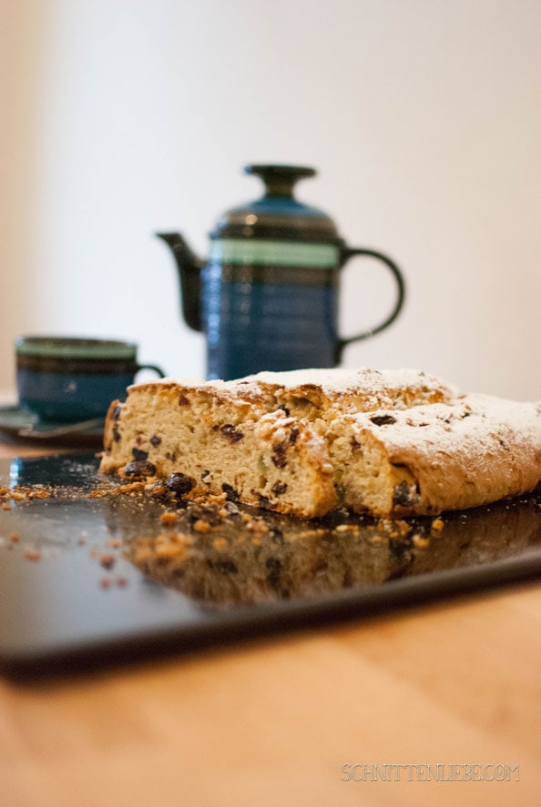 Quarkstollen backen weihnachten
