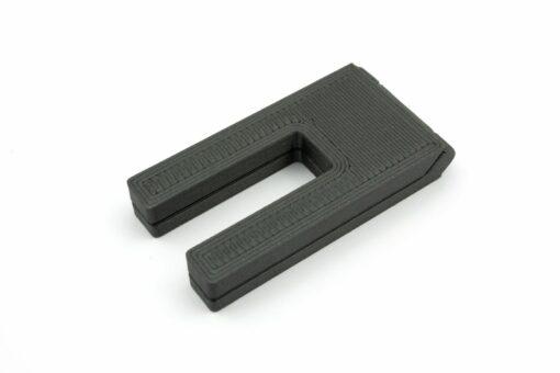 3D Druck Höhenausgleich Nähmaschine Metallic