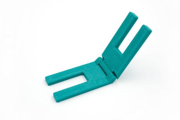 3D Druck Schnittenliebe Höhenausgleich Nähmaschine Petrol