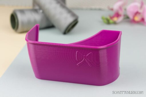Schnittenliebe 3D Auffangbehälter W6 Purpur