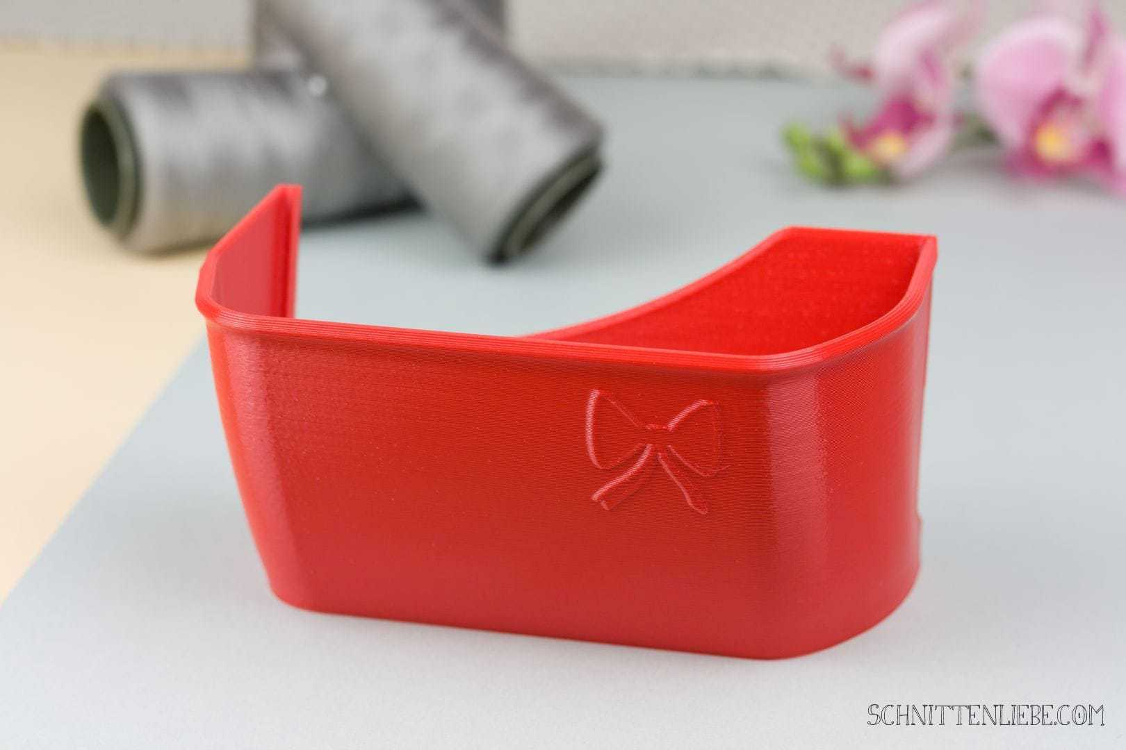 Schnittenliebe 3D collecting container W6 N454D flame red