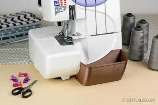 Schnittenliebe 3D Auffangbehälter W6 Kupfer
