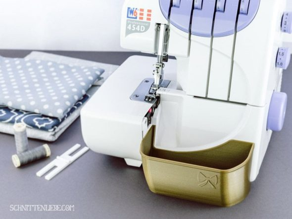Schnittenliebe 3D Auffangbehälter W6 Altgold