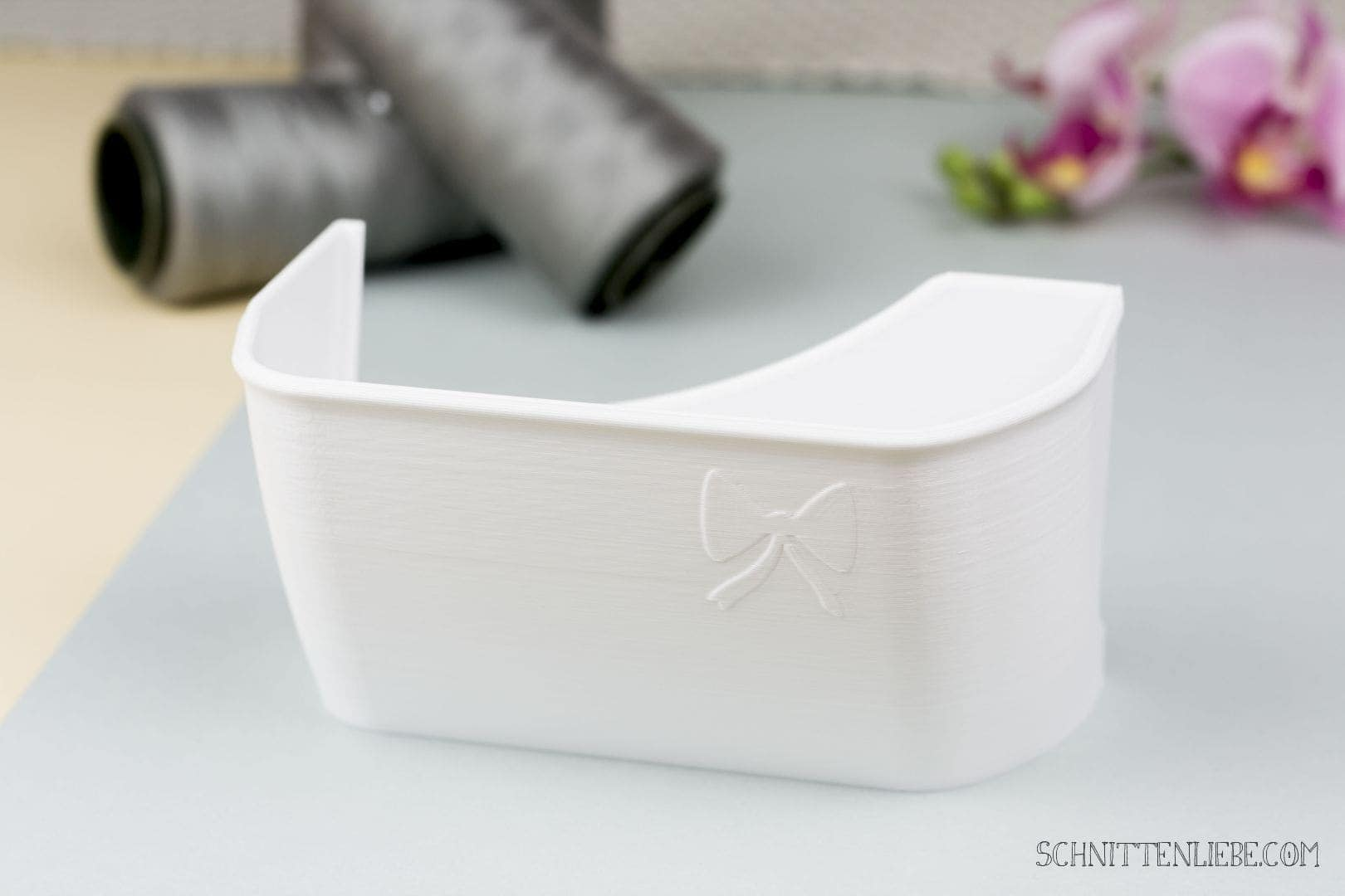 Schnittenliebe 3D collecting container W6 N454D white
