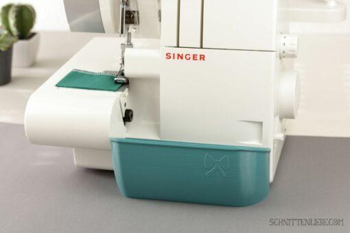 Schnittenliebe 3D Auffangbehälter Singer 14sh754 Petrol