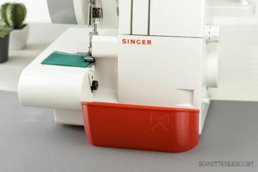 Schnittenliebe 3D Auffangbehälter Singer 14sh754 feuerrot