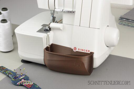 Schnittenliebe 3D Auffangbehälter Singer S14-78 Kupfer