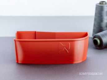 Schnittenliebe 3D collecting container Baby Lock Enlighten Evolution flame red