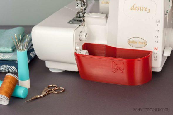 Schnittenliebe 3D Auffangbehälter Babylock Desire 3 Feuerrot