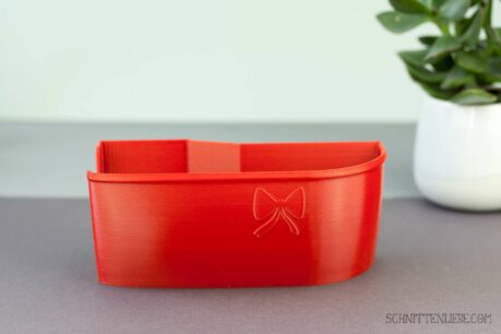 Schnittenliebe 3D collecting container Baby Lock Desire 3 flame red