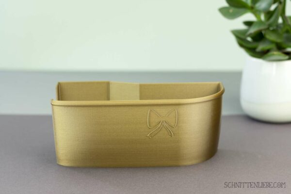 Schnittenliebe 3D collecting container Baby Lock Desire 3 old gold