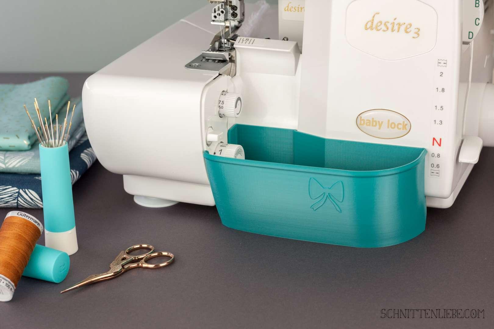 Schnittenliebe 3D Auffangbehälter Babylock Desire 3 Petrol