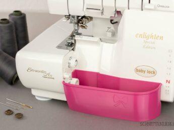 Schnittenliebe 3D collecting container Baby Lock Enlighten Evolution pink