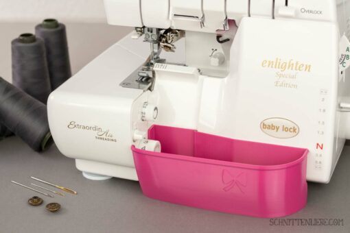 Schnittenliebe 3D Auffangbehälter Babylock Enlighten Evolution Pink