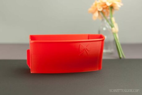 Schnittenliebe 3D collecting container Baby Lock Ovation Gloria flame red