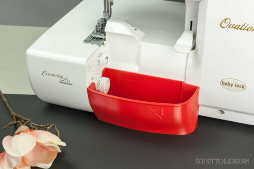 Schnittenliebe 3D Auffangbehälter Babylock Ovation Gloria Feuerrot