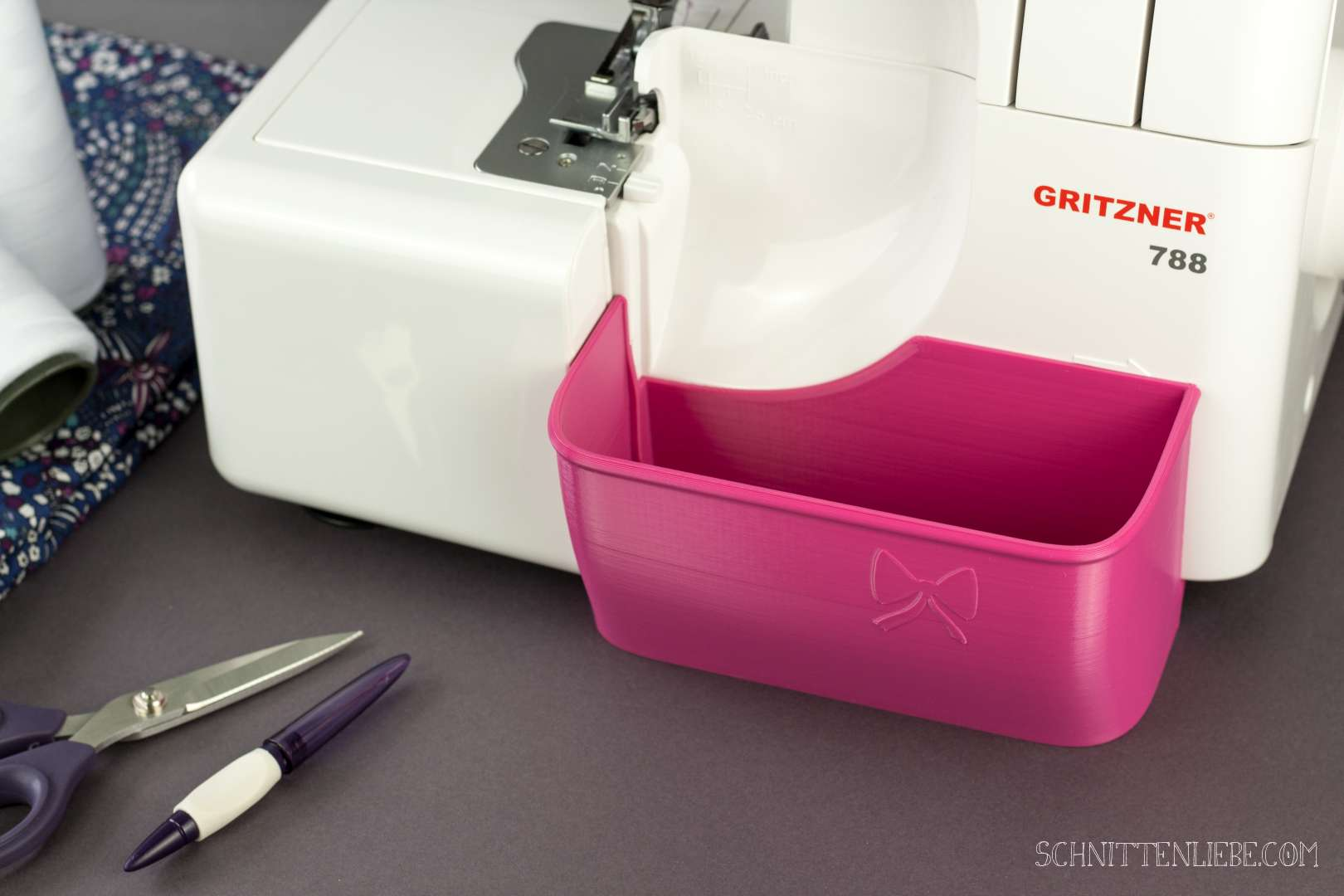 Schnittenliebe 3D collecting container Gritzner 788 pink