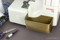 Schnittenliebe 3D Auffangbehälter Gritzner 788 altgold