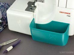 Schnittenliebe 3D Auffangbehälter Gritzner 788 petrol