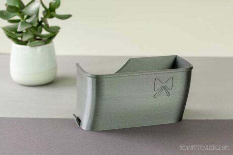 Schnittenliebe 3D collecting container Gritzner 788 metallic