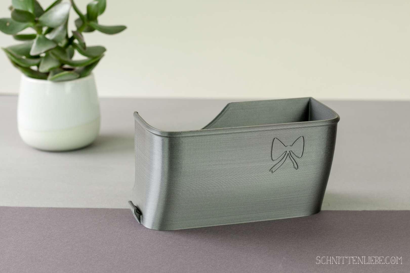 Schnittenliebe 3D Auffangbehälter Gritzner 788 metallic