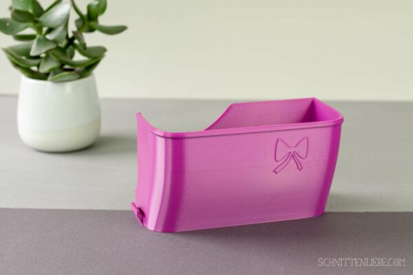 Schnittenliebe 3D collecting container Gritzner 788 purple