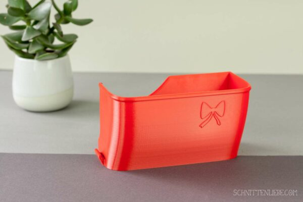 Schnittenliebe 3D collecting container Gritzner 788 flame red