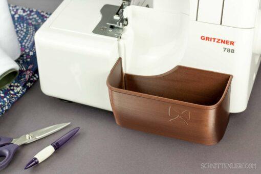 Schnittenliebe 3D Auffangbehälter Gritzner 788 Kupfer