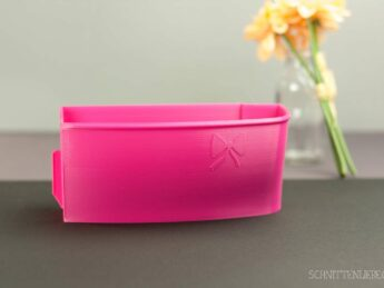 Schnittenliebe 3D collecting container Baby Lock Ovation Gloria pink