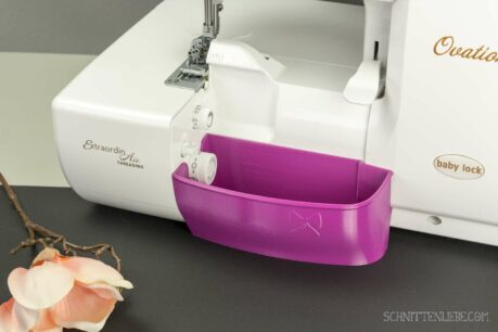 Schnittenliebe 3D collecting container Baby Lock Ovation Gloria purple