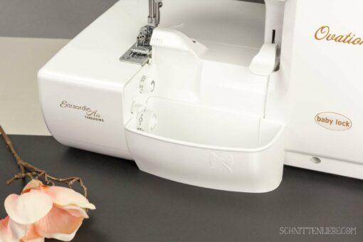Schnittenliebe 3D Auffangbehälter Babylock Ovation Gloria Weiß