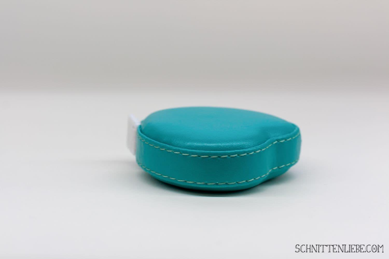 schnittenliebe maßband petrol kunstleder nähen anfänger