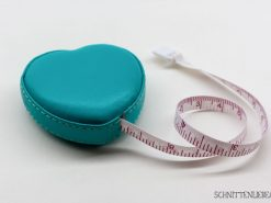 Schnittenliebe measurement tape petrol synthetic leather sewing beginners
