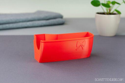 Schnittenliebe 3D Auffangbehälter Baby Lock Enspire feuerrot