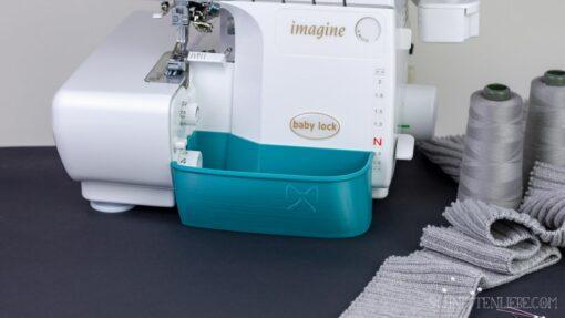 Schnittenliebe 3D Auffangbehälter Baby Lock Imagine petrol
