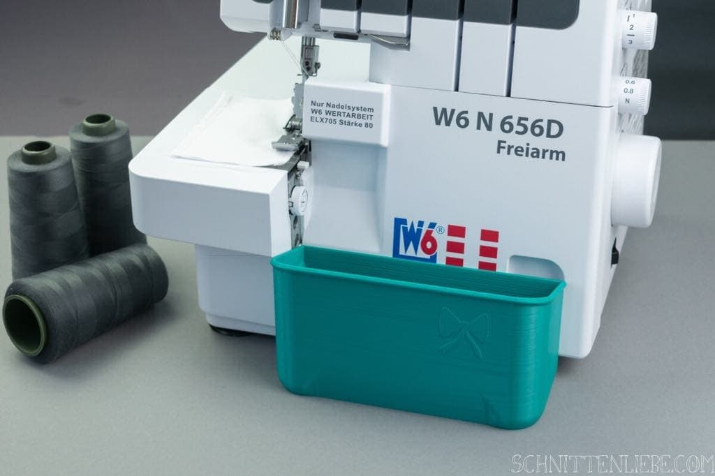 Schnittenliebe 3D collecting container W6 N656D petrol