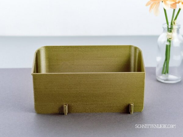 Schnittenliebe 3D collecting container W6 N656D old gold
