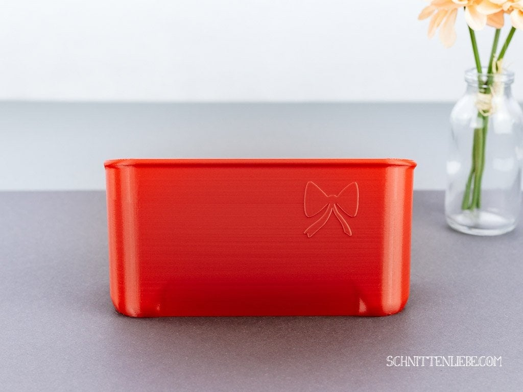 Schnittenliebe 3D collecting container W6 N656D flame red
