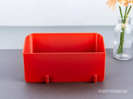 Schnittenliebe 3D Auffangbehälter W6 N656D feuerrot