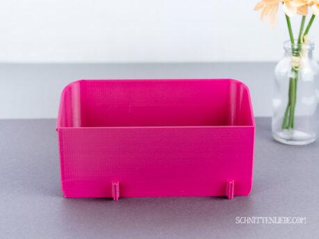 Schnittenliebe 3D Auffangbehälter W6 N656D pink