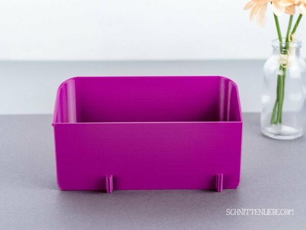 Schnittenliebe 3D collecting container W6 N656D purple
