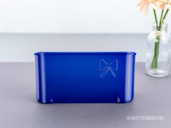 Schnittenliebe 3D Auffangbehälter W6 N656D royal