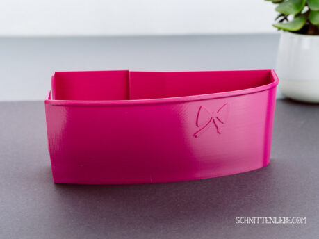 Schnittenliebe 3D collecting container Baby Lock Acclaim pink