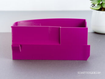 Schnittenliebe 3D collecting container Baby Lock Acclaim purple