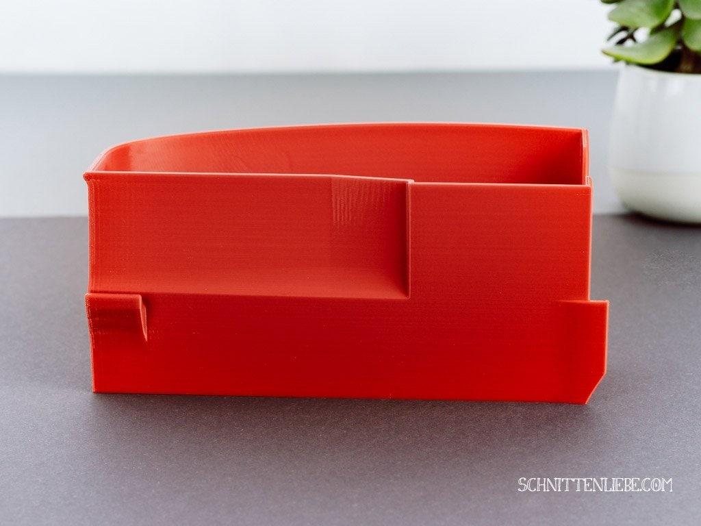 Schnittenliebe 3D Auffangbehälter Babylock Acclaim feuerrot