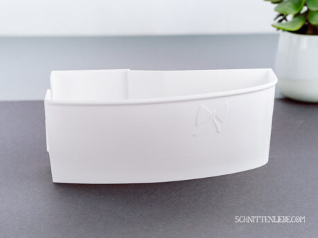 Schnittenliebe 3D collecting container Baby Lock Acclaim white
