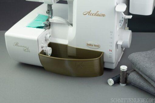 Schnittenliebe 3D Auffangbehälter Baby Lock Acclaim altgold