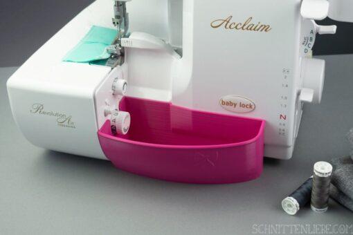 Schnittenliebe 3D Auffangbehälter Baby Lock Acclaim pink