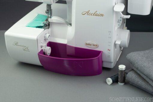 Schnittenliebe 3D Auffangbehälter Baby Lock Acclaim purpur